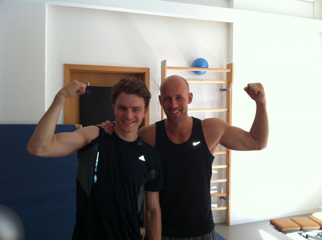 Personal Training mit Schauspieler Friedrich Mücke
