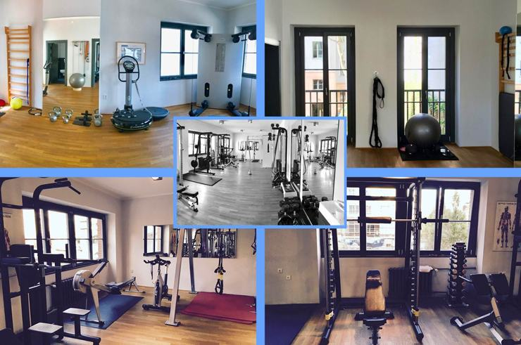 Privates Studio des Personal Trainers in Berlin