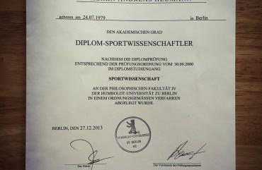 Andreas Heumann, Diplo-Sportwissenschaftler, Personal Trainer Berlin