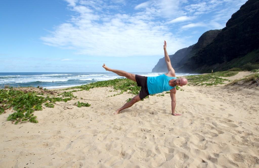 Seitstürz Beach Workout