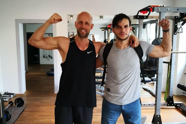 Ali Lacin beim Personal Trainer Berlin
